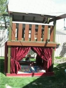 Домик для детей на даче