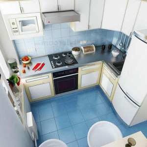 Планировка кухни 6 кв метров