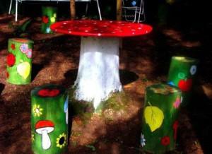 Место для игры детей на даче