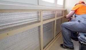 Особенности утепления балкона