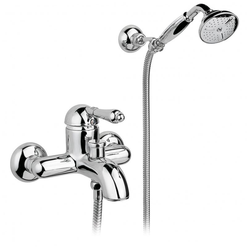 Смеситель для ванной с душем