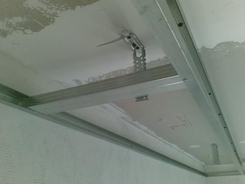 Потолок + Из Гипсокартона Пошаговая Инструкция
