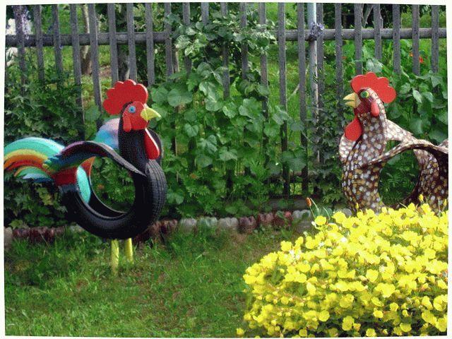 Украшаем сад и огород своими руками фото фото 551