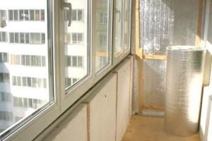 этапы утепления балкона