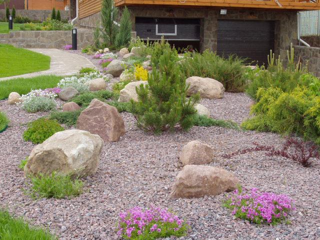 Как сделать каменный сад своими руками