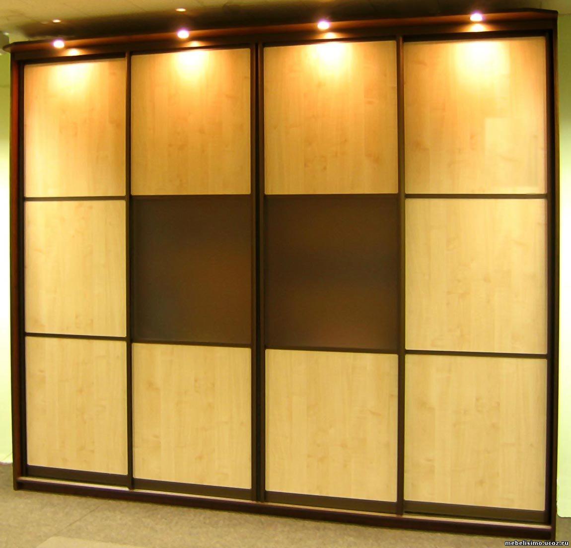 Шкафы-купе и раздвижные двери на заказ объявление в разделе .