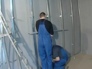 отделка стен гипсокартоном