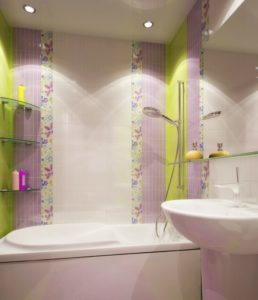 Особенности дизайна небольшой ванной комнаты