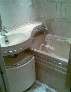Обустройство ванной комнаты 1,5 на 2 м