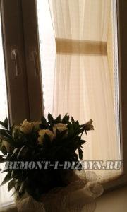 Как пошить французские шторы
