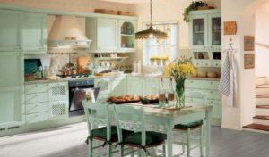 Кухня в стиле прованс в малогабаритной кухне ?