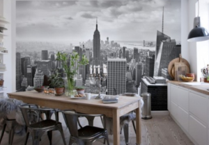 Фотообои для кухни: 2016, современные идеи
