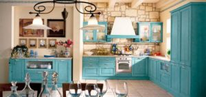 Кухня в стиле прованс в малогабаритной кухне фото?