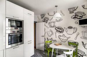 Фотообои для кухни: фото 2016, современные идеи